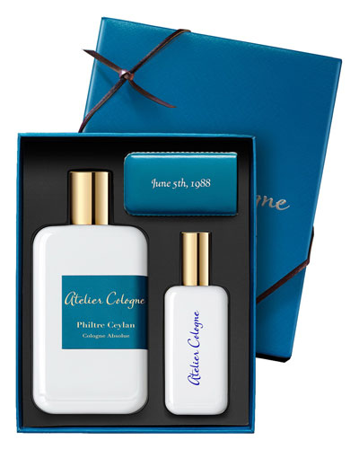 Philtre Ceylan Cologne Absolue, 200 mL with Personalized Travel Spray, 1.0 oz./ 30 mL