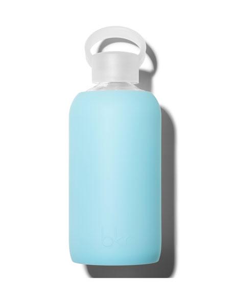 Glass Water Bottle, Skye, 500 mL