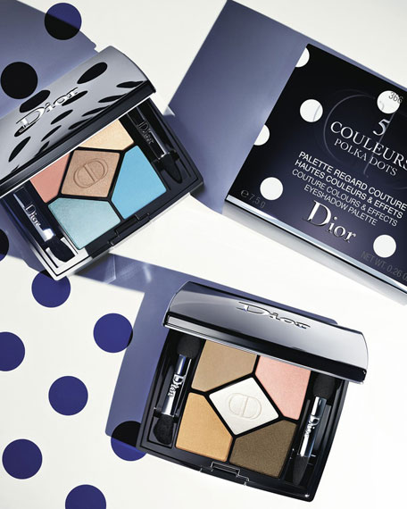Limited Edition 5 Couleurs Polka Dots Couture Colours & Effects Eyeshadow Palette - Polka Dots Collection