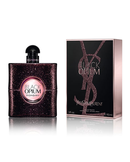 Saint Laurent Black Opium Eau De Toilette, 3.0