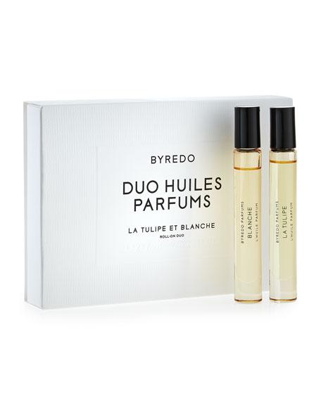 Roll-On Fragrance Duo, Blanche & La Tulipe, 7.5 mL each