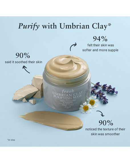 Fresh Umbrian Clay Pore Purifying Face Mask, 3.3 oz.
