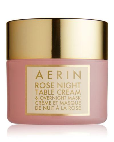 Rose Night Table Cream & Overnight Mask  1.7 oz.