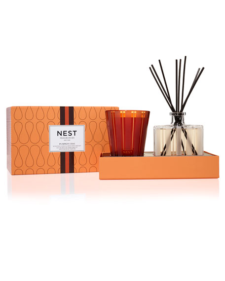 Pumpkin Chai Candle + Diffuser Set