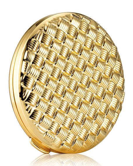 Estee Lauder Limited Edition Golden Weave Powder Compact