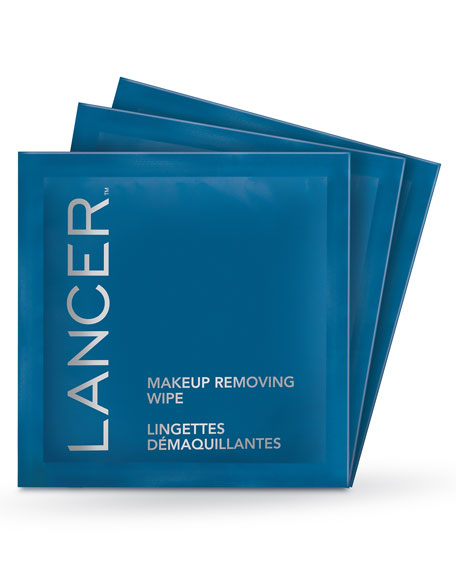 Lancer Makeup Removing Wipes, 90 count ($120 Value)