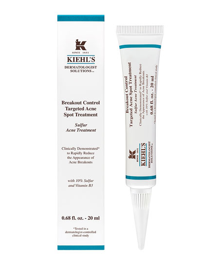 Kiehl's Since 1851 Breakout Control Targeted Acne Spot Treatment, 20 mL<br>