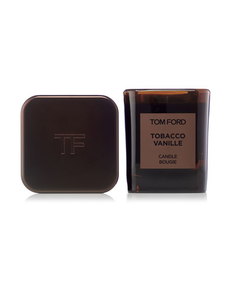 tom ford tobacco vanille candle holder set neiman marcus. Black Bedroom Furniture Sets. Home Design Ideas
