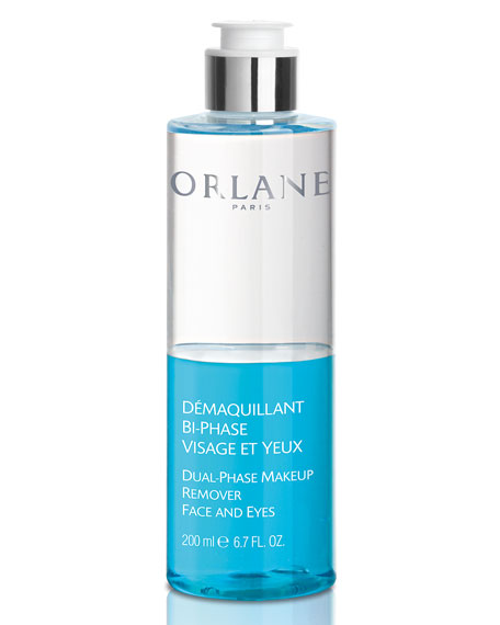 Orlane Dual-Phase Makeup Remover Face and Eyes, 6.7 oz./ 200 mL
