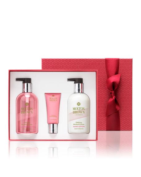Rhubarb & Rose Hand Gift Set