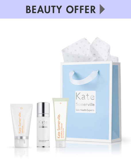 Receive a free 3-piece bonus gift with your $200 Kate Somerville purchase