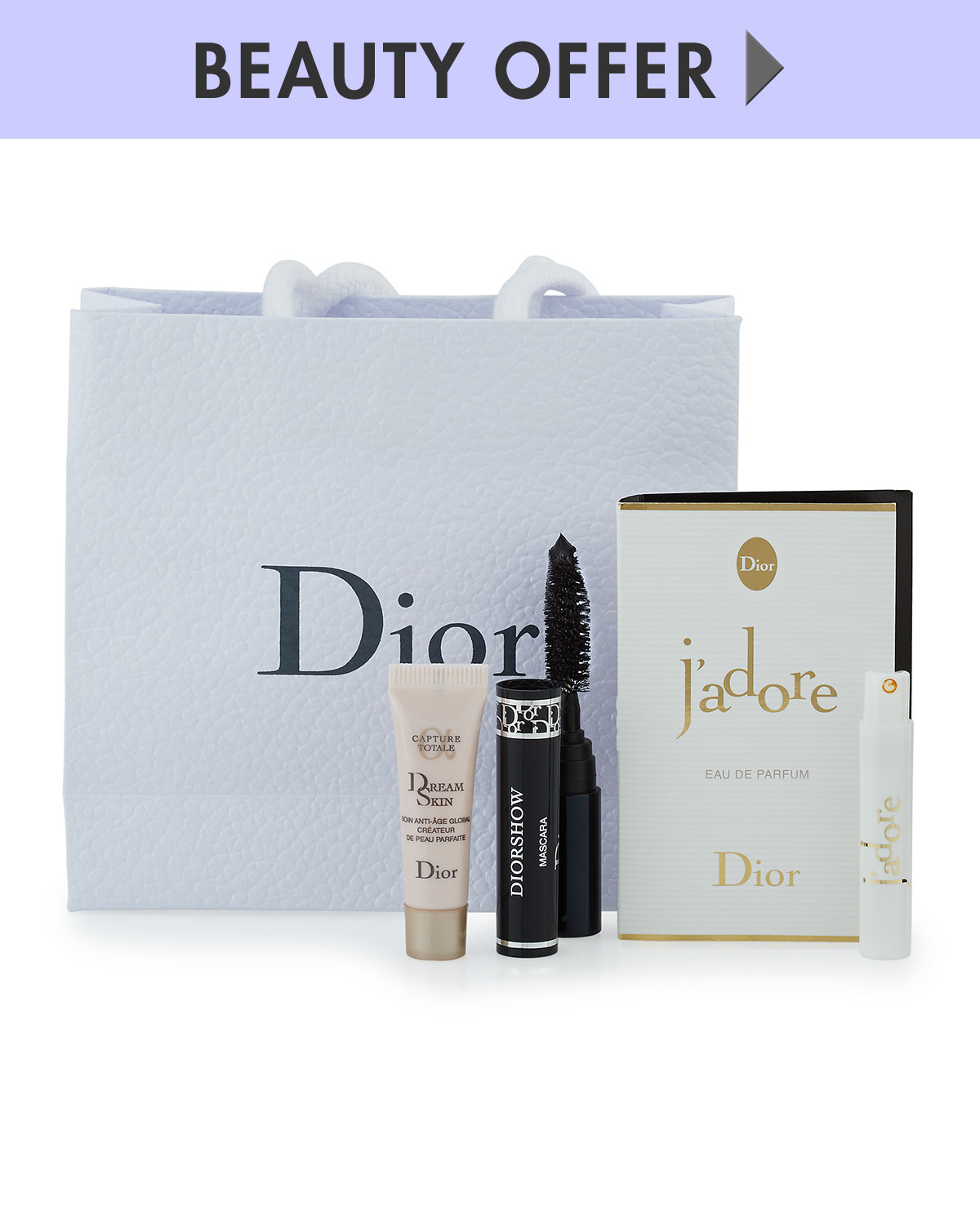 DiorYours with any $200 Dior Beauty purchase—Online only*