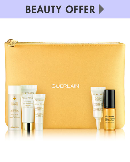 Receive a free 6-piece bonus gift with your $250 Guerlain purchase