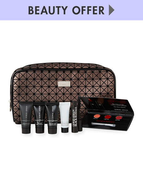 Receive a free 7-piece bonus gift with your $150 Giorgio Armani purchase