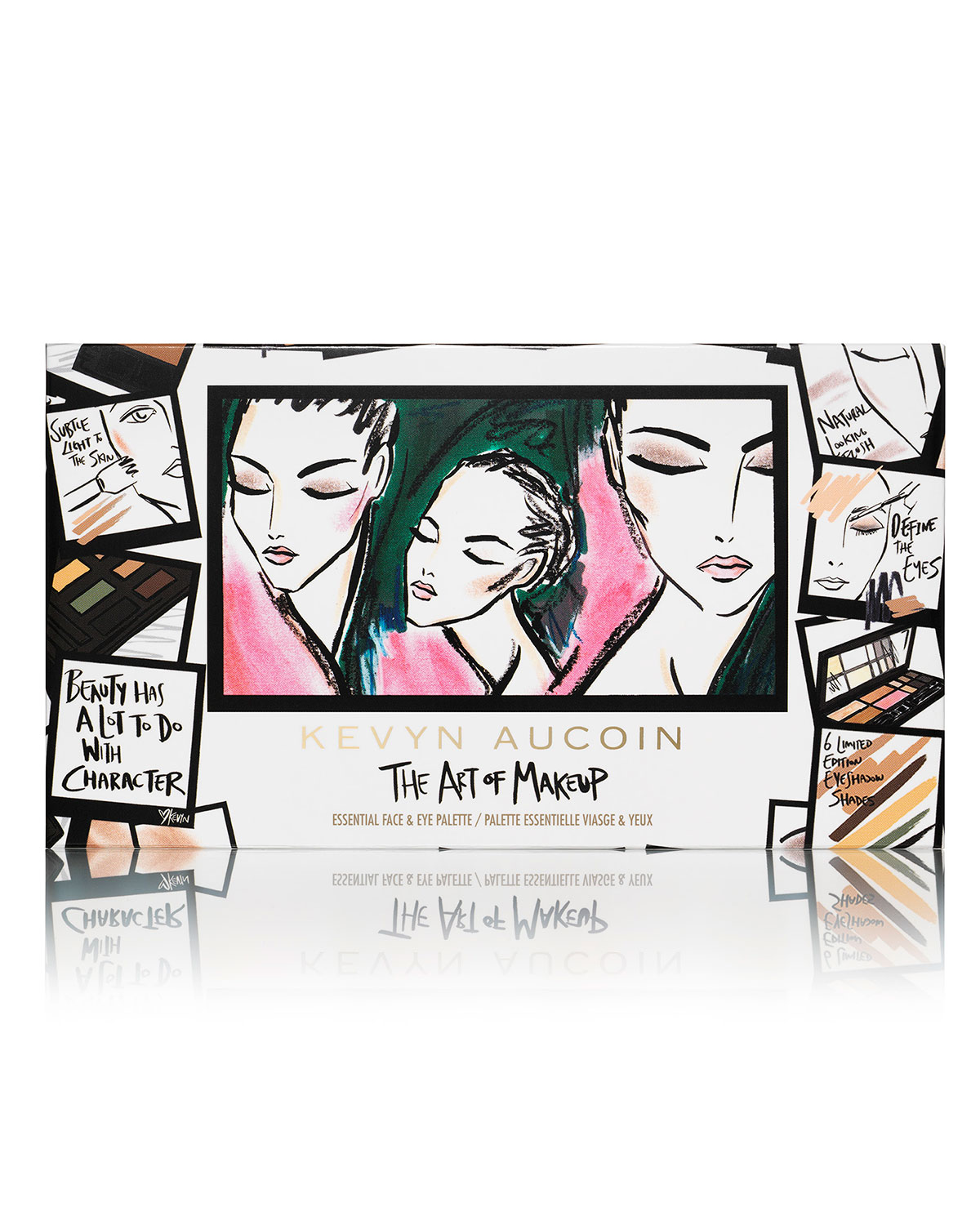 kevyn aucoin limited edition the art of makeup essential face eye