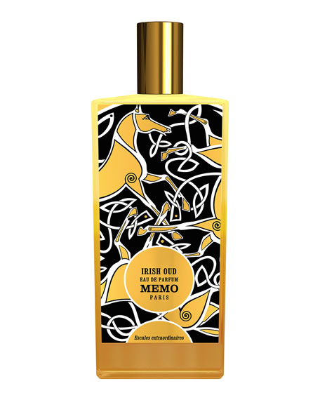 Memo Paris Irish Oud Limited Edition Leather Coffret, 2.5 oz./ 75 mL