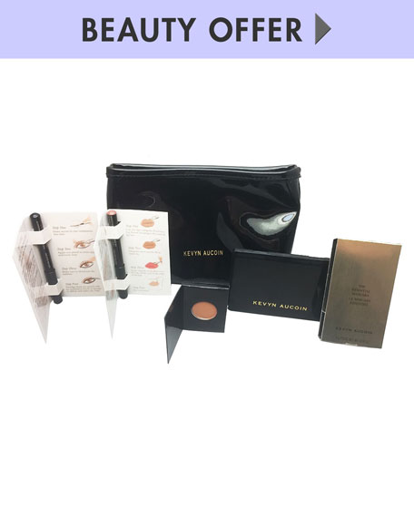 Receive a free 3-piece bonus gift with your $125 Kevyn Aucoin purchase