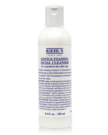 Gentle Foaming Facial Cleanser, 8oz