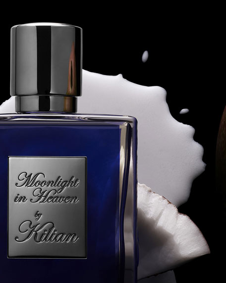 Kilian Moonlight in Heaven 50 mL Refillable Spray and its Clutch