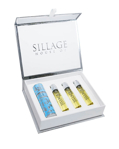 House of Sillage Travel Spray with Refills, 0.3 oz./ 8.0 mL