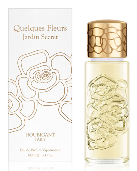 Quelques Fleurs Jardin Secret Eau de Parfum, 3.4 oz./ 100 mL