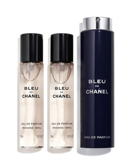 <b>Bleu De Chanel</b> <br>Travel Spray Set, 0.7 oz./ 20 mL