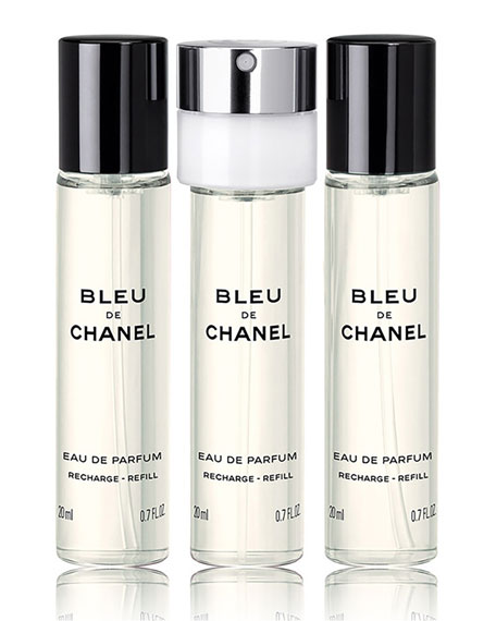 <b>BLEU DE CHANEL</b> <br>Eau de Parfum Pour Homme Refillable Travel Spray, 0.7 oz./ 20 mL