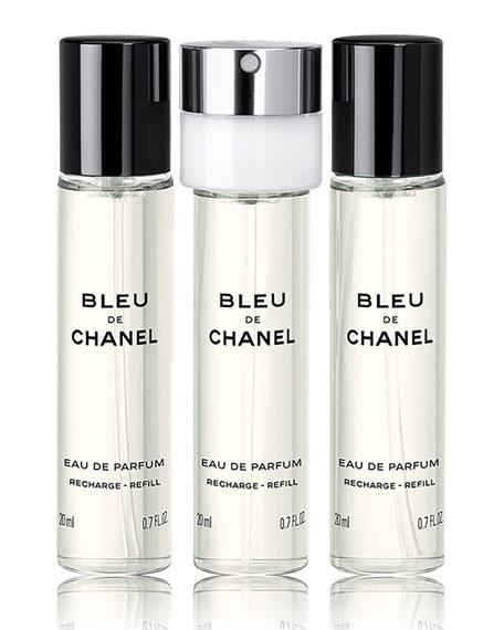 <b>BLEU DE CHANEL</b> <br>Eau de Parfum Pour Homme Refillable Travel Spray, 0.7 oz./ 20 mL
