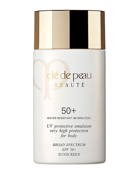 Cle de Peau Beaute UV Protective Emulsion Very High Protection For Body Broad Spectrum SPF 50+, 2.5 oz.