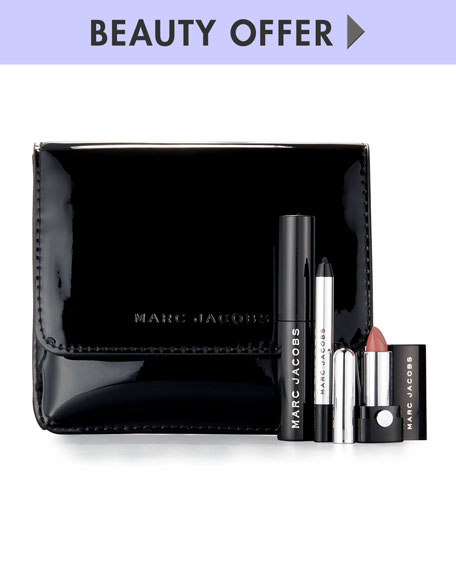 Free 3pc Set Of Bestsellers At Marc Jacobs Beauty Marc Jacobs Beauty has more when you use this code. Right now, Get A Free 3-Piece Set Of Bestsellers With Your Order Of $50 or more.