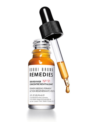 Remedies Skin Reviver Power Greens Ferment Serum  .47 oz./ 14 mL