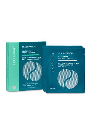 Patchology FlashPatch? Restoring Night Eye Gels, 5-Pack