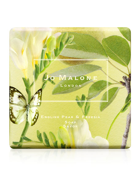 English Pear & Freesia Soap, 100g