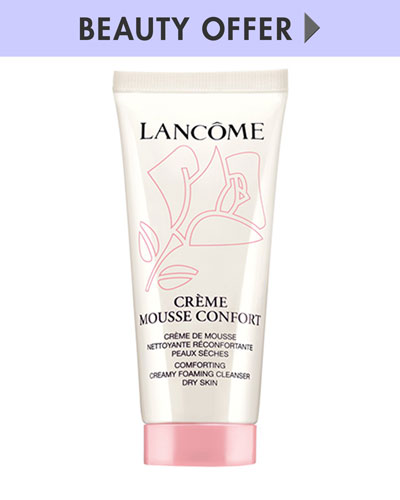Yours with any $75 Lancôme purchase—Online only*