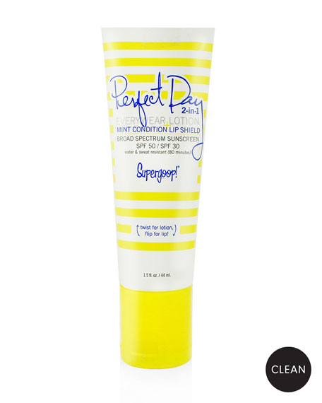Supergoop! Perfect Day 2-in-1 Everywear Lotion and Lip Shield