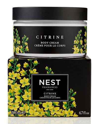 Citrine Body Cream, 6.7 oz.