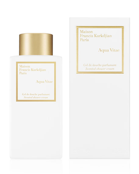Scented Shower Cream Aqua Vitae, 8.4 oz./ 250 mL