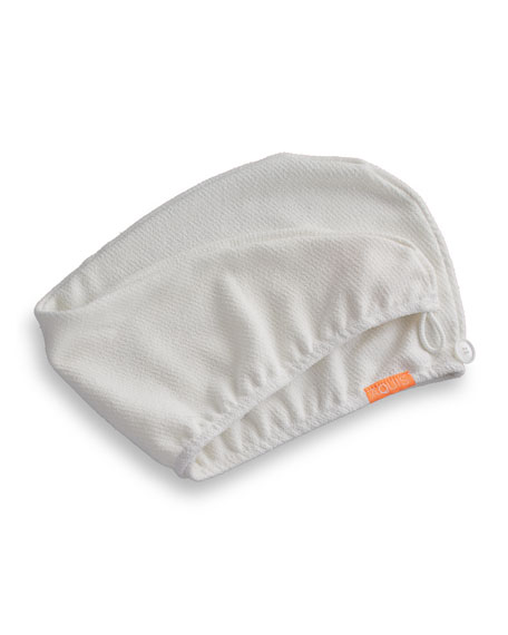 Luxe Hair Turban, White