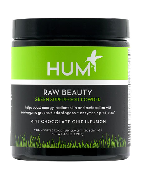 Hum Nutrition Raw Beauty?? Superfood Powder ?? Mint