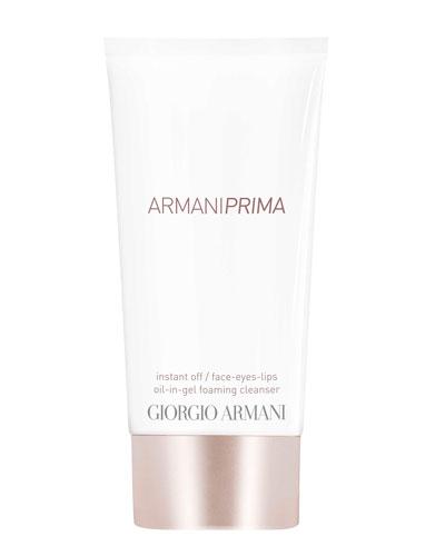 Prima Oil-in-Gel Instant Off Face & Eyes & Lips Foaming Cleanser