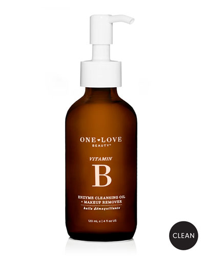 Vitamin B Enzyme Cleansing Oil + Makeup Remover, 120ml