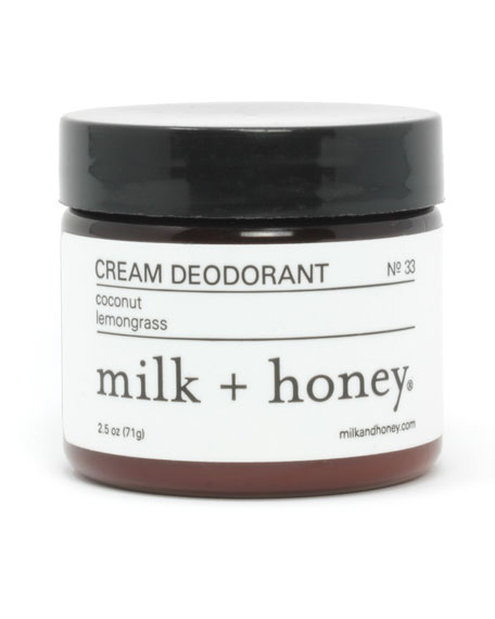 Cream Deodorant No. 33, 2.5 oz.