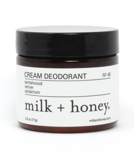 Cream Deodorant No. 46, 2.5 oz.