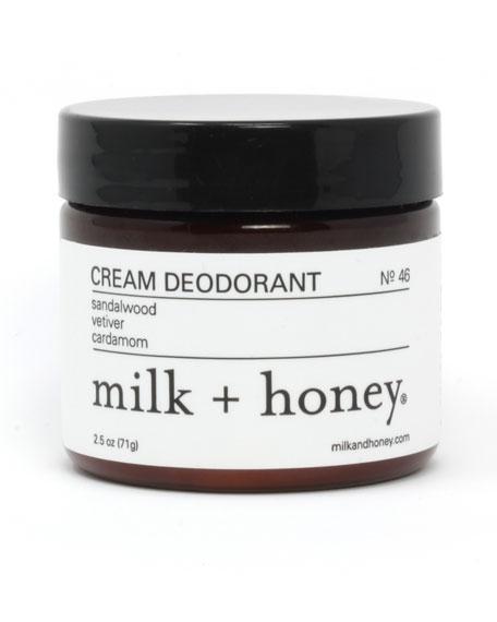 Cream Deodorant No. 46, 2.5 oz.