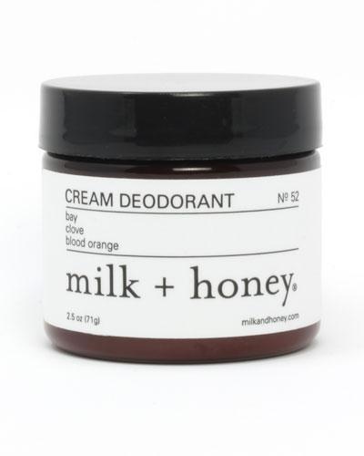 Cream Deodorant No. 52, 2.5 oz.