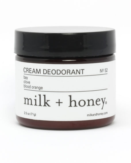 Cream Deodorant No. 52, 2.5 oz.