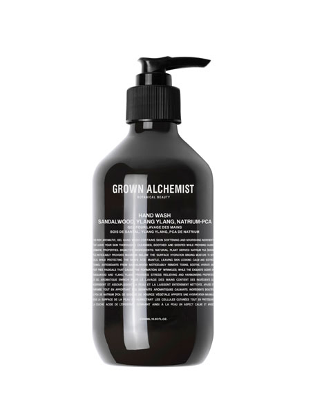 Grown Alchemist Hand Wash &#150 Sandalwood, Ylang Ylang, Hyaluronan, 16.9 oz./ 500 mL