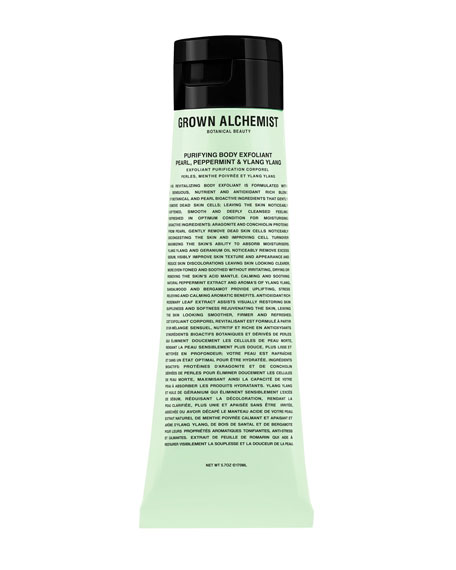 Grown Alchemist Purifying Body Exfoliant: Pear, Peppermint & Ylang Ylang, 5.7 oz./ 170 mL