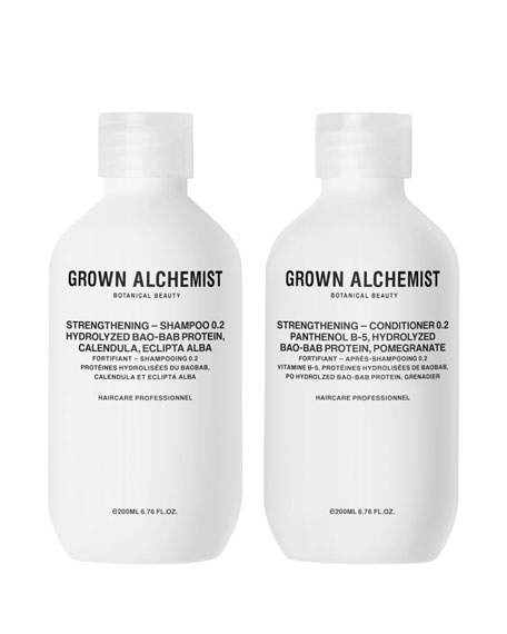 Grown Alchemist Strengthening Haircare Twinset, 2 x 6.7
