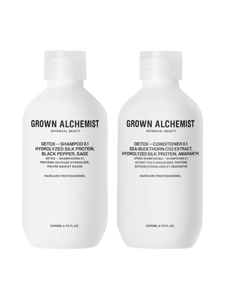 Grown Alchemist Detox Haircare Twinset, 2 x 6.7
